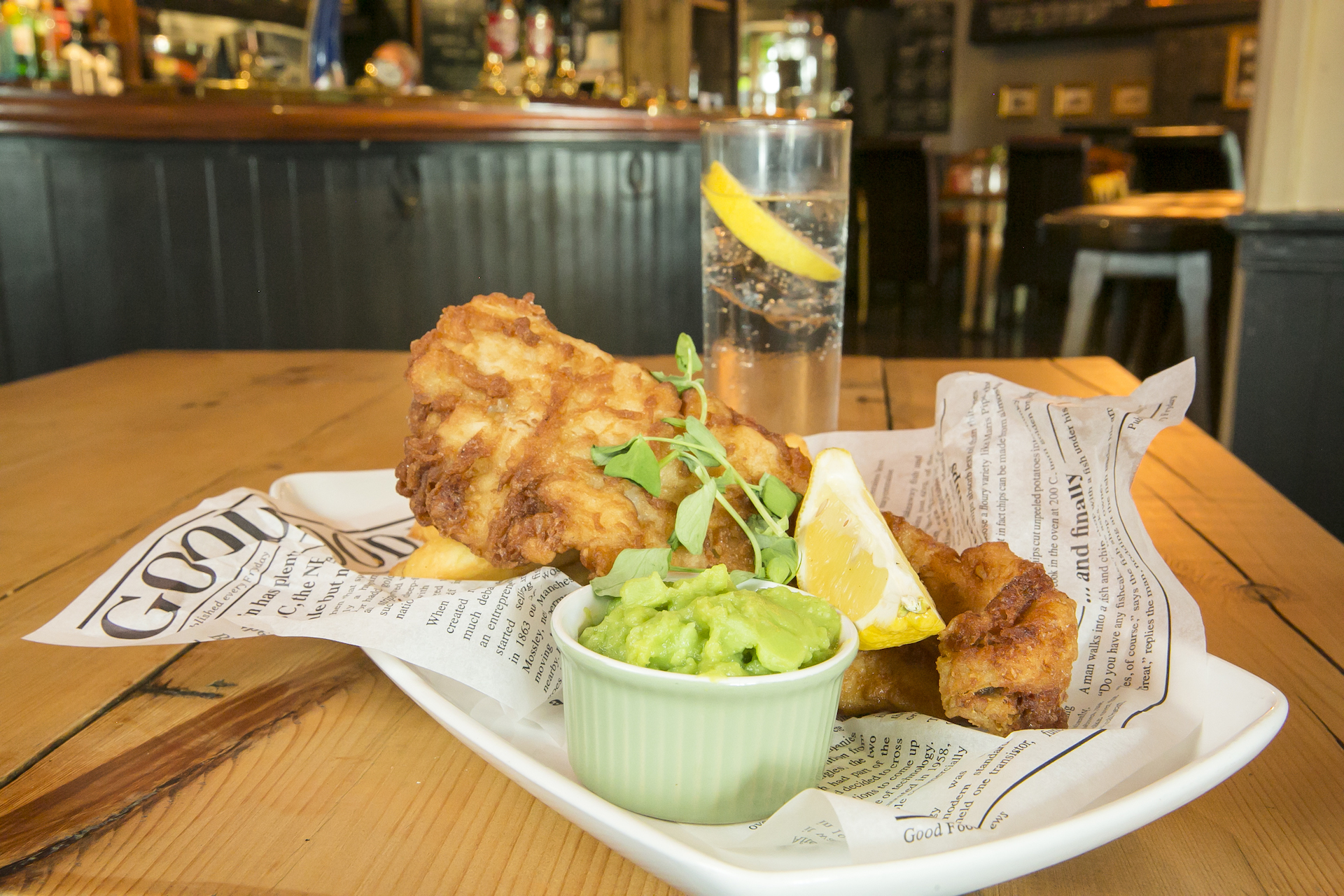 The Ivy House - Food & Drink